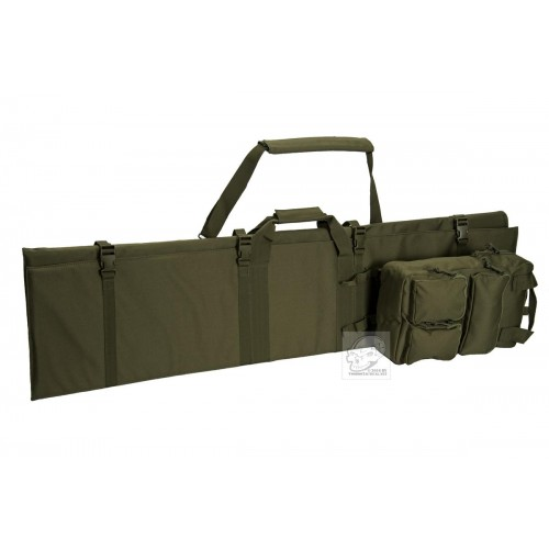 Voodoo Tactical 20-0991 Tri-Fold Rifle Case, Removable Gear Bag